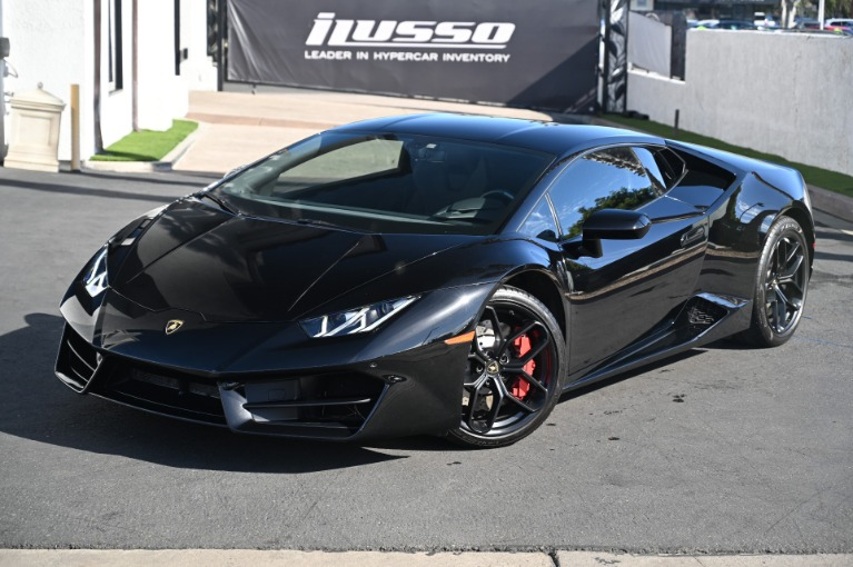 Used 2018 Lamborghini Huracan LP 580-2 for sale Sold at Ilusso in Costa Mesa CA