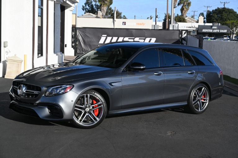 Used 2018 Mercedes-Benz E-Class AMG E 63 S for sale Sold at Ilusso in Costa Mesa CA