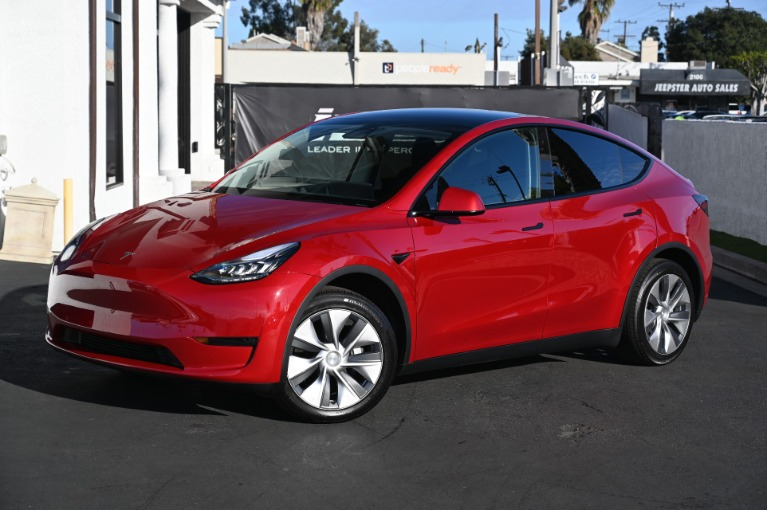 Used 2020 Tesla Model Y Long Range for sale Sold at Ilusso in Costa Mesa CA