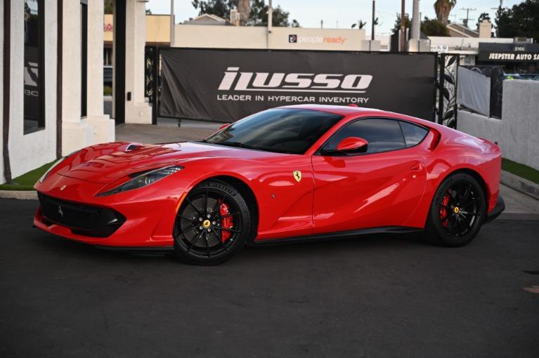 Used 2018 Ferrari 812 Superfast for sale Sold at Ilusso in Costa Mesa CA