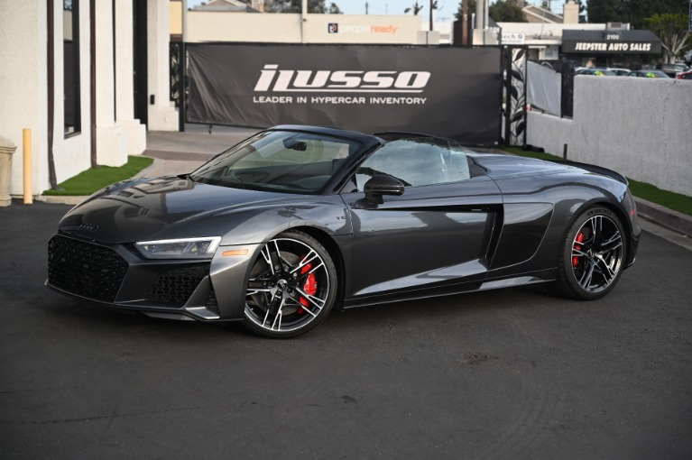 Used 2020 Audi R8 5.2 quattro V10 perform. Spyder for sale Sold at Ilusso in Costa Mesa CA