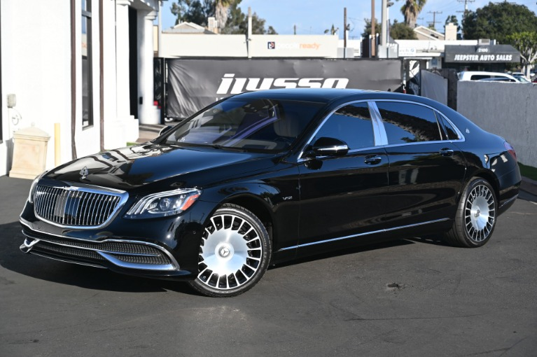 Used 2019 Mercedes-Benz S-Class Mercedes-Maybach S 650 for sale Sold at Ilusso in Costa Mesa CA