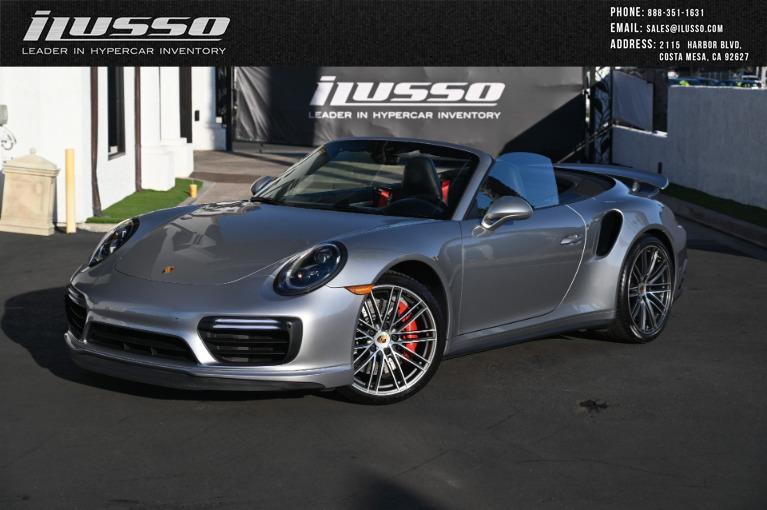 Used 2019 Porsche 911 Turbo for sale Sold at Ilusso in Costa Mesa CA