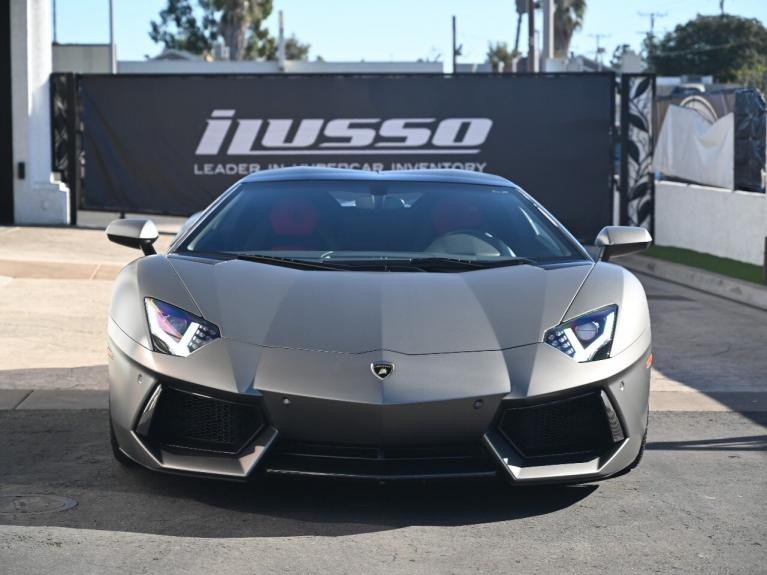 Used 2015 Lamborghini Aventador LP700-4 for sale Sold at Ilusso in Costa Mesa CA