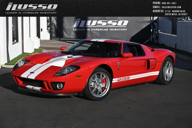Used 2005 Ford GT for sale Sold at Ilusso in Costa Mesa CA