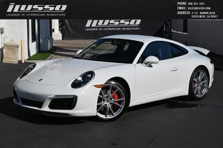Used 2019 Porsche 911 Carrera S for sale Sold at Ilusso in Costa Mesa CA
