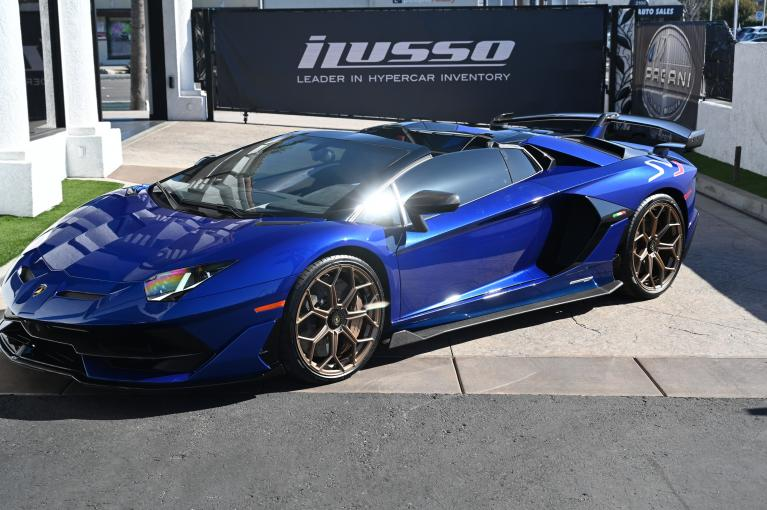 Used 2020 Lamborghini Aventador SVJ LP 770-4 SVJ for sale Sold at Ilusso in Costa Mesa CA