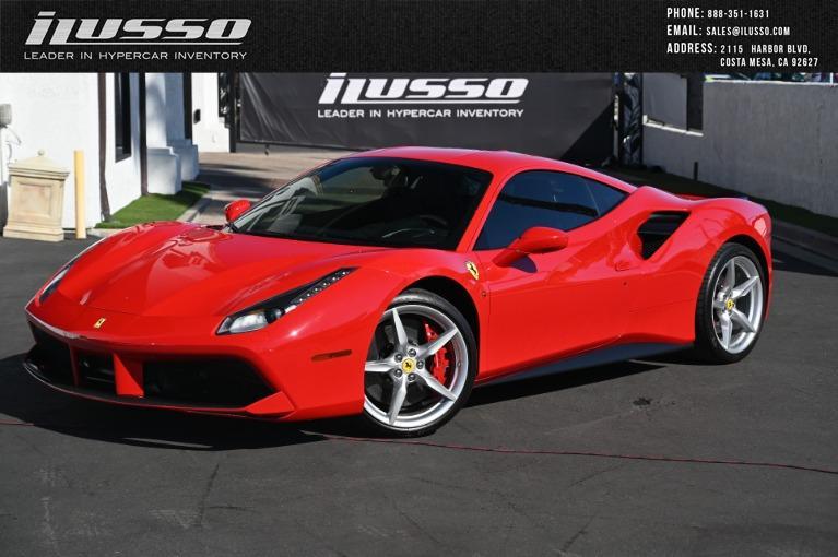 Used 2017 Ferrari 488 GTB for sale Sold at Ilusso in Costa Mesa CA
