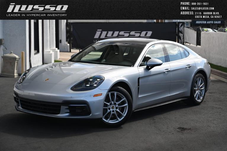 Used 2017 Porsche Panamera 4S for sale Sold at Ilusso in Costa Mesa CA