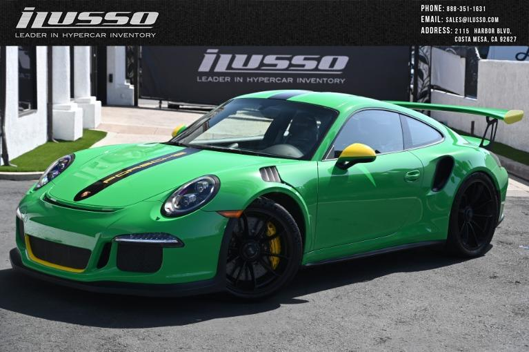 Used 2016 Porsche 911 GT3 RS for sale $219,000 at Ilusso in Costa Mesa CA