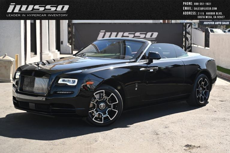 Used 2018 Rolls-Royce Dawn for sale Sold at Ilusso in Costa Mesa CA