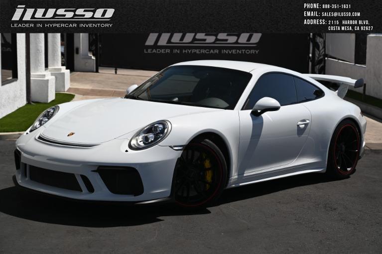 Used 2018 Porsche 911 GT3 for sale $179,000 at Ilusso in Costa Mesa CA