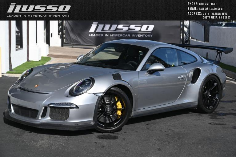 Used 2016 Porsche 911 GT3 RS for sale Sold at Ilusso in Costa Mesa CA